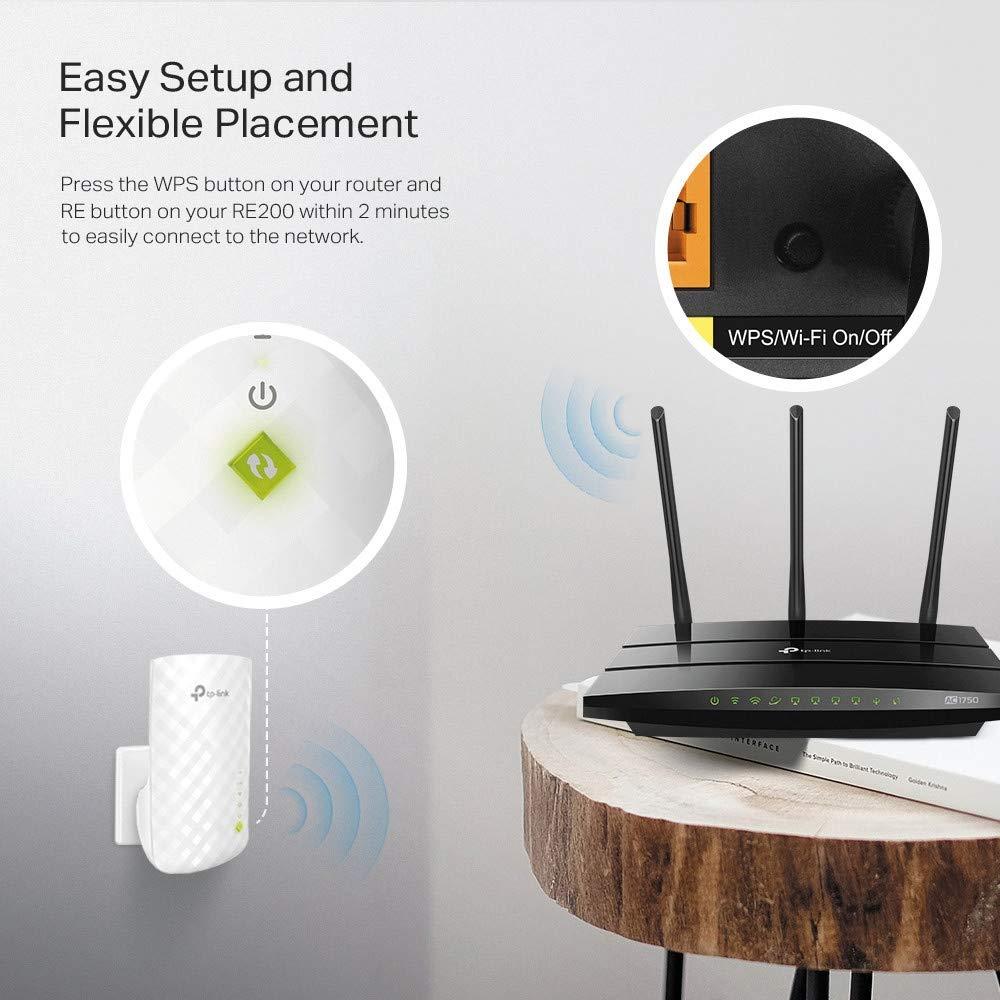 TP-Link RE200 amplificateur WiFi pas cher